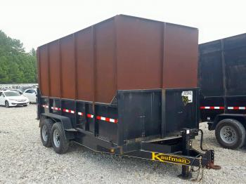 Salvage Kaufman Trailer
